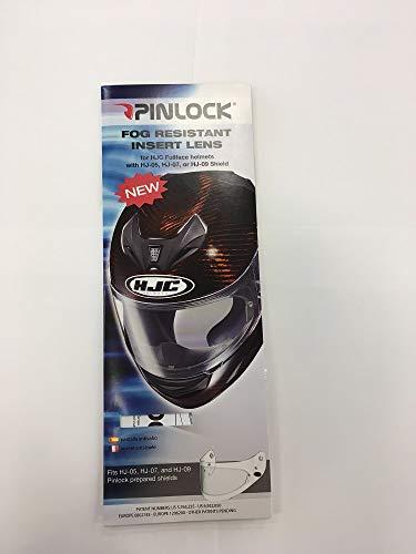 (HJC PINLOCK INSERT FITS HJ-09, HJ-07, HJ-05 CLEAR)