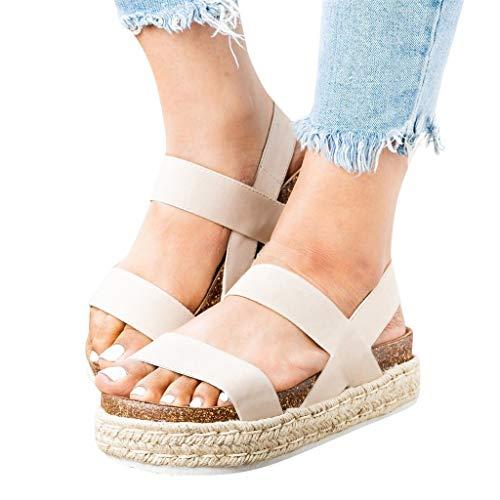 84ef9e1e1926 Women Sandals Clearance Sale!melupa Ladies Fashion Casual Thick-Bottom Open  Toe Sandals Platform