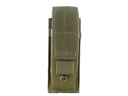 Molle Light Portable Tactical Open Top Mag Magazine Pouch Men's Tactical Bag Hunting Bag Army Green