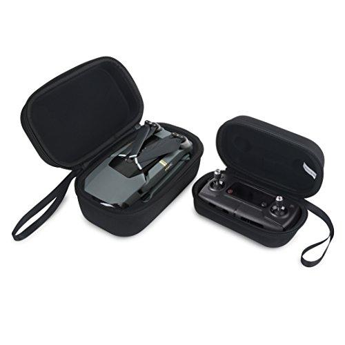 Honsky Durable Mavic Carrying Case, Folding Drone Body Bag + Remote Controller Transmitter Hardshell Bag Housing Bag Storage Box for DJI Mavic Pro