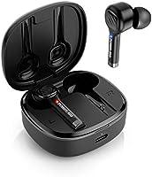 POWERADD ワイヤレスイヤホン Bluetooth 5.0 ブルートゥース イヤホン30時間連続再生 IPX7防水 自動ペアリング USB-C充電 CVC8.0 ノイズキャンセリング&AAC対応 Hi-Fi高音質 ハンズフリー通話...