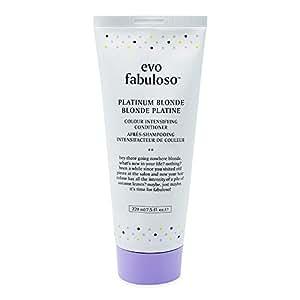 Evo Fabuloso Colour Intensifying Conditioner Platinum Blonde (220ml)