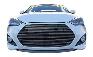 GTG 2013 - 2014 Hyundai Veloster Turbo 1 - Kit Rejilla de Billet Repuestos de cromo: Amazon.es: Coche y moto