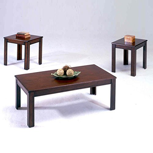 Bernards 3 Piece Cocktail (Bernards Espresso 3 Piece Coffee Table)