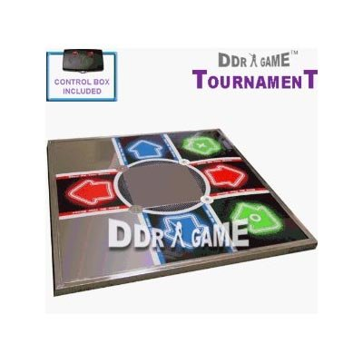 (PS3/PS2 Tournament Metal Arcade Dance Pad)