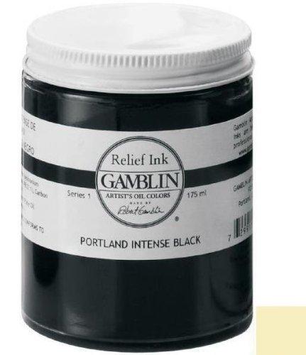 Gamblin Relief Ink - Transparent Base 175ml by Gamblin (Ml 175 Ink)
