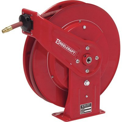 Reelcraft 7650 Olp 3 8 Inch By 50 Feet Spring Driven Hose Reel For Air Water