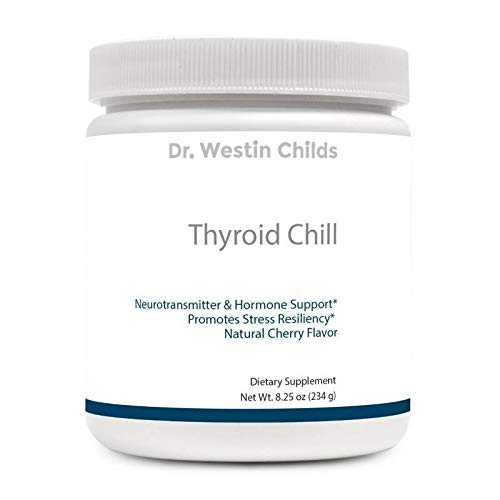 Dr. Westin Childs - Thyroid Chill - Calming Neurotransmitter Complex, Hormone Support & Sleep Aide - Natural Cherry Flavor - Non-GMO, GMP Certified, 60 Day Supply by Dr. Westin Childs