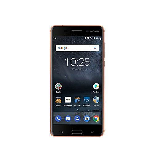 Nokia 6 - 32 GB - Unlocked (AT&T/T-Mobile) - Copper - Prime Exclusive