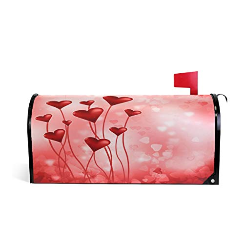 (WOOR Valentine's Day Magnetic Mailbox Cover Oversized-25.5