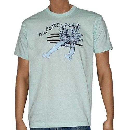 THE FAINT - Octopus - Blue Jersey T-shirt - size XL