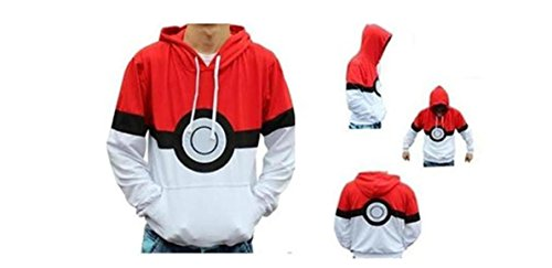 Pokemon Pokeball Hoodie XX-Large Unisex Adult Size