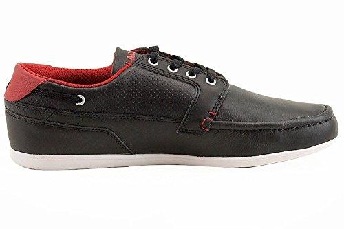 1ad4a6258eab34 Lacoste Men s Dreyfus Qs1 Moccasin Loafer Boat Shoes - Buy Online in ...