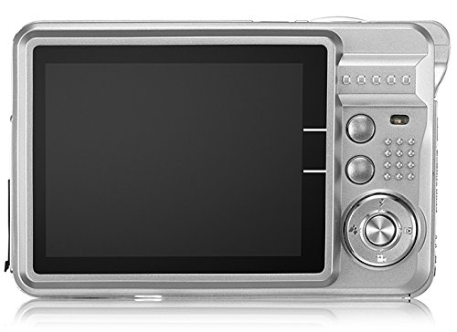 AbergBest 21 Mega Pixels 2.7'' LCD Rechargeable HD Digital Camera Video camera Digital Students cameras,Indoor Outdoor for Adult/Seniors / Kid (Silver) by Aberg Best