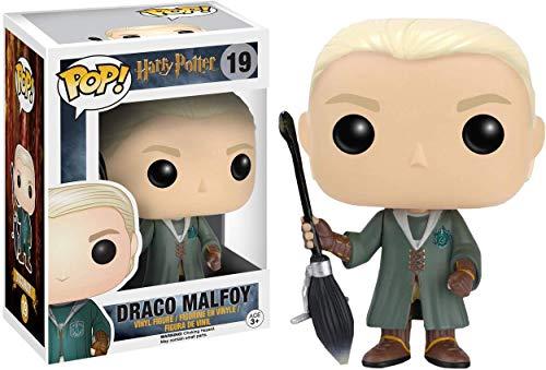 Funko FunkoBOBUGT707 Abysse - Vinilo de Harry Potter 19 Draco Malfoy Quidditch, edicion Limit