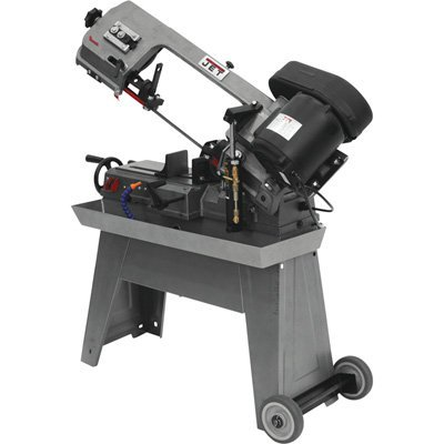 JET J-3230 5-Inch by 8-Inch 1/2-Horsepower 115-Volt Single Phase Horizontal Wet Bandsaw by Jet