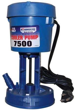 Re-Circulating Pump, 230, 240V, 0.75A