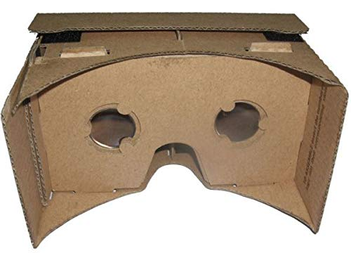 43c186aca 3D DIY Google Cardboard VR Virtual Reality Glasses for Android Phone  iPhone: Amazon.ae: E-winner