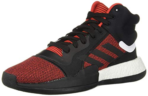 adidas Men's Marquee Boost, Active red/Black/aero Blue, 13 M -