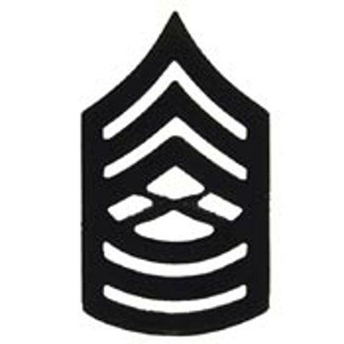 EagleEmblems P10219 Rank-Usmc,E8,Master Sgt (Subdued) (1'') (Master Subdued)