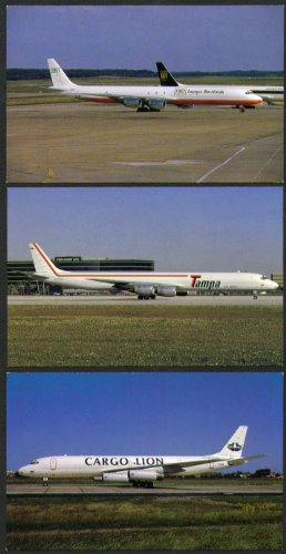 douglas-dc-8-postcard-group-cargo-lion-tampa-tnt-express