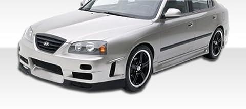 2004-2006 Hyundia Elantra HB Duraflex Skyline Kit- Includes Skyline Front Bumper (100558), Evo 5 Rear Bumper (100260), and Skyline Sideskirts (100268). - Duraflex Body - Evo 5 Duraflex Body