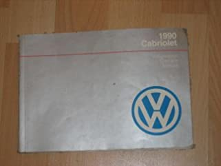 1990 vw volkswagen cabriolet owners manual vw amazon com books rh amazon com vw cabrio owners manual download 2001 vw cabrio repair manual