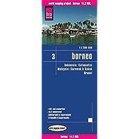 Reise Know-How Landkarte Borneo (1:1.200.000): Kalimantan, Sabah & Sarawak, Brunei - Indonesien 3: world mapping project