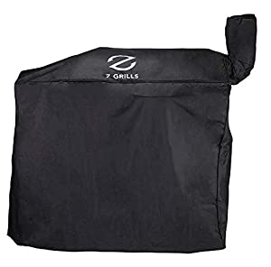 Z Grills ZGC-01B Cover for Z Gill ZPG-700D ZPG-7002B, Black by famous Z Grills