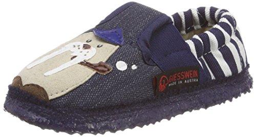 Giesswein Achtal, Zapatillas de estar Por Casa Para Niños Azul (Jeans)