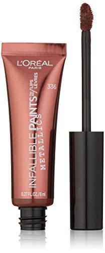 L'Oréal Paris Infallible PAINTS/LIPS Metallic, Liquid Venom, 0.27 fl. oz. ()