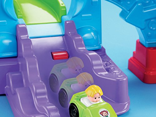 41QE Dwbu0L - Fisher-Price Little People Loops 'n Swoops Amusement Park [Amazon Exclusive]