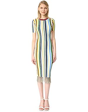 Women's Vertical Stripe Dress