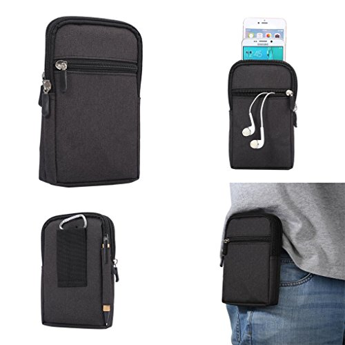 Universal Cell Phone Purse Multipurpose Waist Pack Bag for Outdoor Sports Moblie Phone Carrying Cases Belt Bag Pouch for iPhone X/8/7/6/6S Plus Samsung Galaxy Series Phones Under 6.3'' from WaitingU (Difference Between Iphone X And Iphone 8)