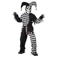Disfraces de California Juguetes Infantiles Evil Jester, Large