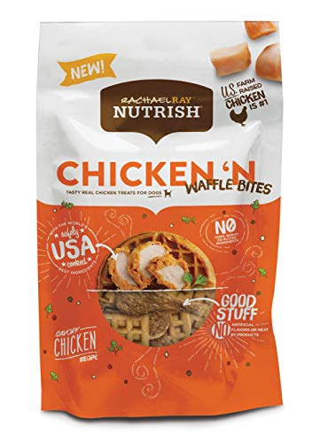(Rachael Ray Nutrish Chicken 'N Waffle Bites Dog Treats, 12 oz.)