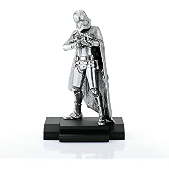 Royal Selangor Hand Finished Star Wars Collection Limited Edition Captain Phasma Figurine - Officially Licensed