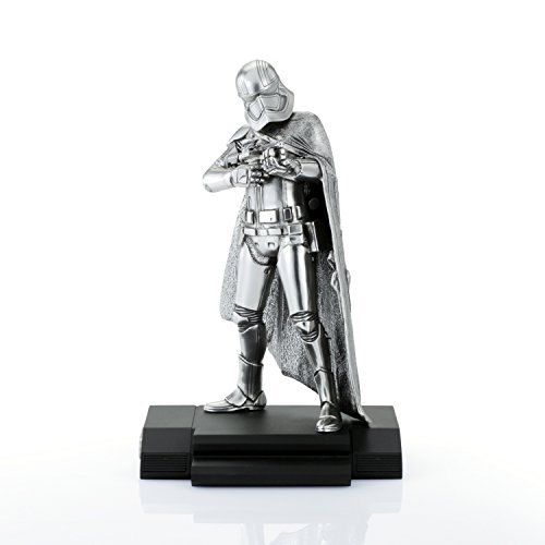 Royal Selangor Hand Finished Star Wars Collection Limited Edition Captain Phasma Figurine - Officially Licensed (Collection Figurine Limited Edition)