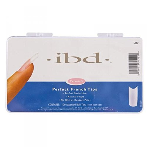 Ibd Perfect French Tips (ibd Perfect French Nail Tips - 100ct by IBD)