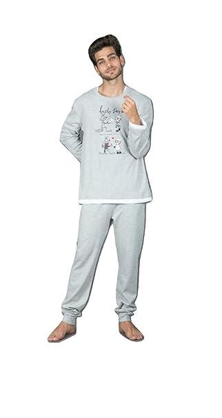 5666f87c1a08 Happy People Pigiama Uomo San Valentino: Amazon.it: Abbigliamento