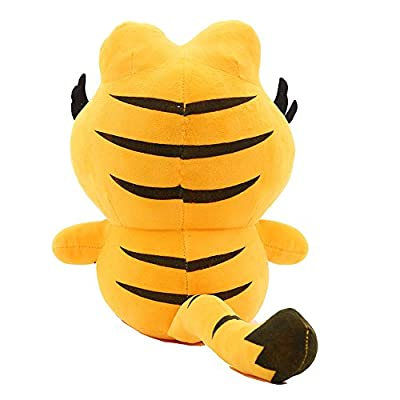 My Super Star Cute Garfield The Cat Plush Dolls Gifts Toys Plush Pillows Boys Girls Yellow Cat Animal Cartoon Figures (25 cm,1 Piece): Toys & Games