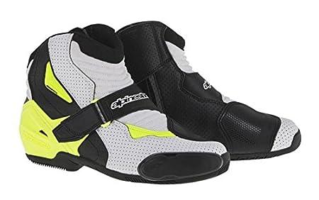 Alpinestars SMX-1 R Vented Boots (48) (BLACK)