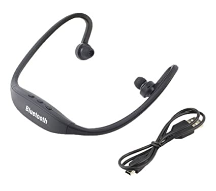 7383618a5fd ArMordy(TM) Sport Bluetooth Earphone S9 Plus SD Card Slot Bluetooth  Headphones Microphone For