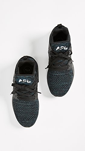Apl: Athlétisme Propulsion Labs Femmes Ascend Sneakers Black / Iridescent
