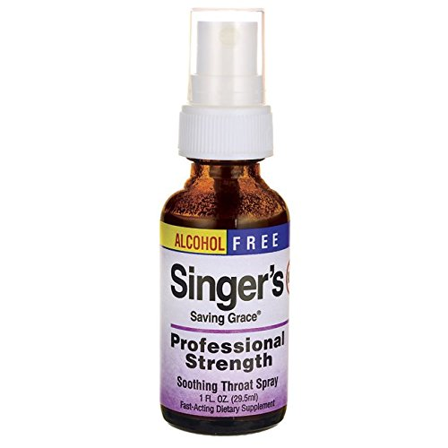 - Singer's Saving Grace Professional Strength - Alcohol Free