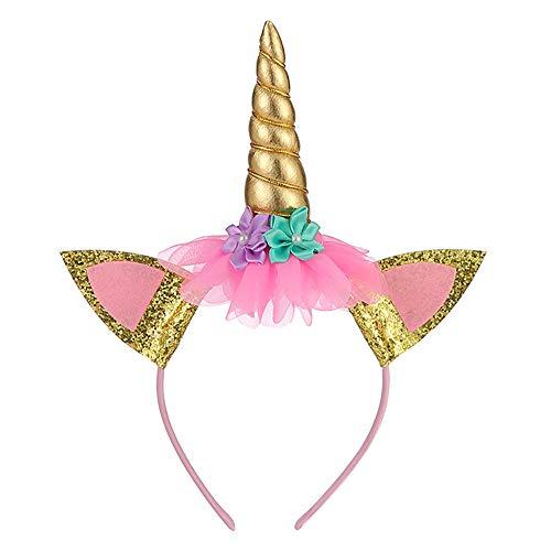 Girl's Unicorn Dress Flower Girls Unicorn Costume Pageant Princess Party Dress]()