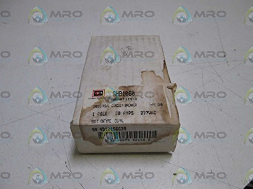 NEW 20A Eaton  GHB1020 Breaker 277//480 VAC 125 VDC Free Shipping 1P