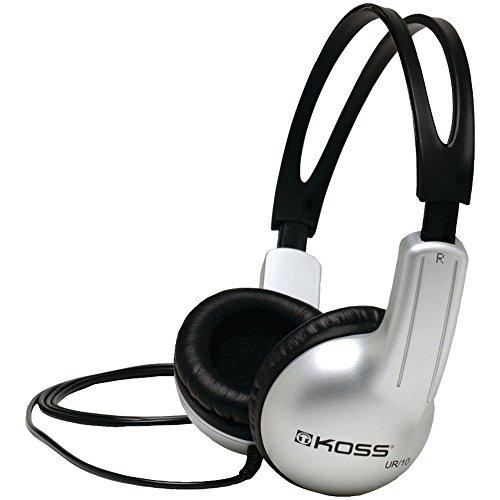 Koss UR10 On-Ear Headphones | Durable | All Ages | 3.5mm Plug