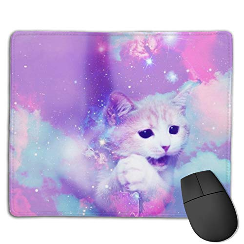 Mouse Pad Rainball Cat Keyboard Wrist Rest Pad for Laptop Computer ()