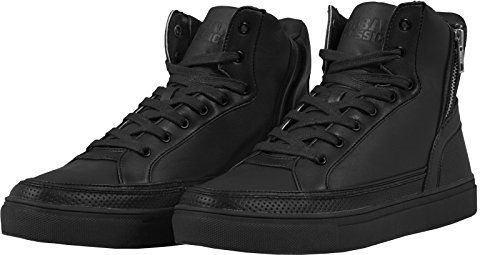 Adulte Basses Classics Mixte Zipper High Urban Baskets Shoe Top px86Pw